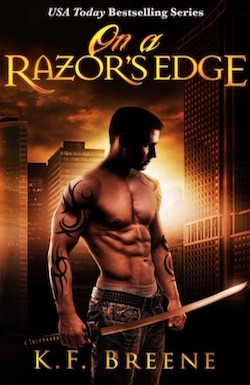 On A Razor's Edge by K.F. Breene